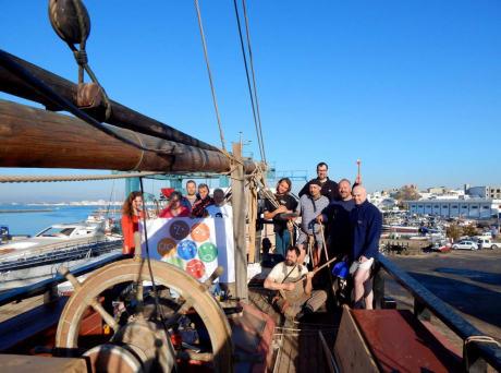 Z úklidu na palubě české brigy La Grace