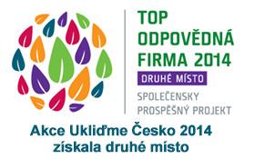 Akce Ukliďme Česko se umístila jako druhá mezi společensky prospěšnými projekty