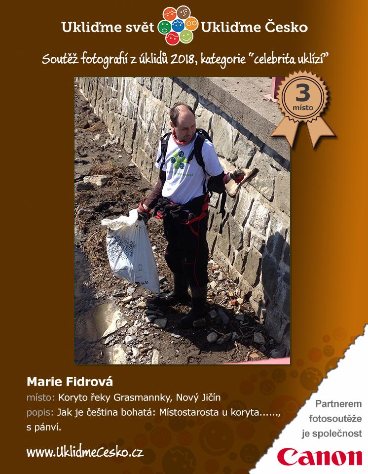 3. místo - Marie Fidrová