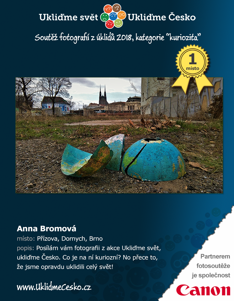 1. místo - Anna Bromová