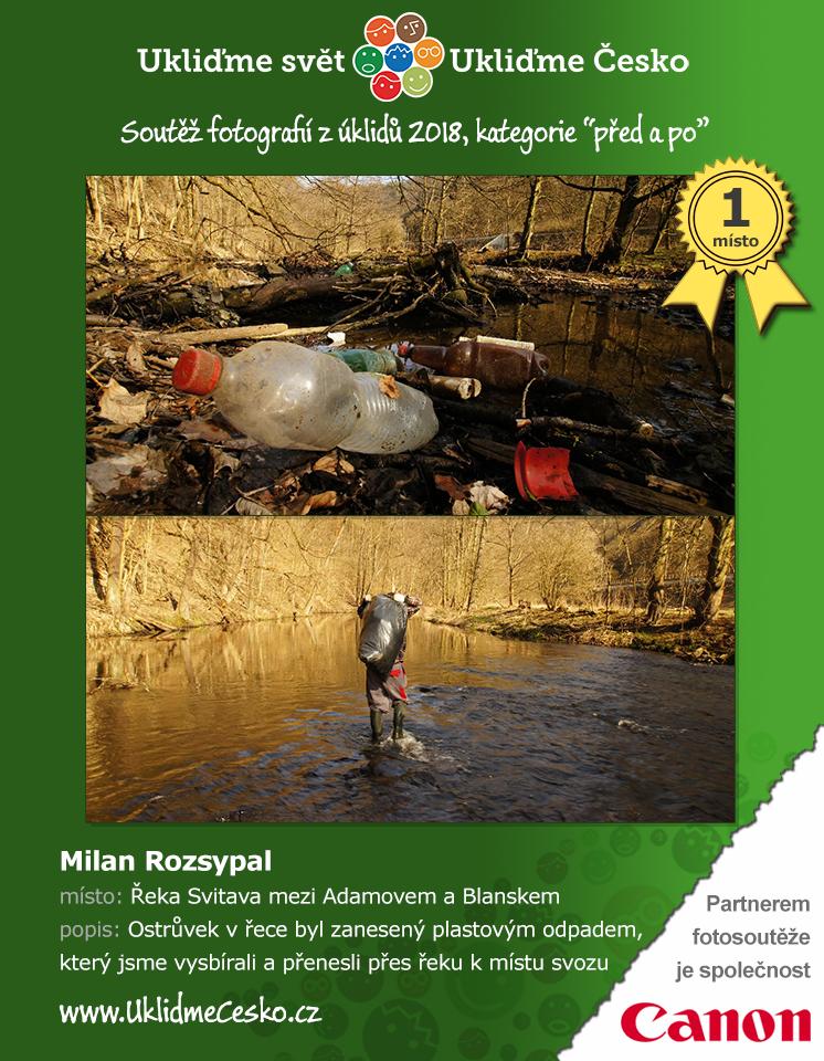 1. místo - Milan Rozsypal