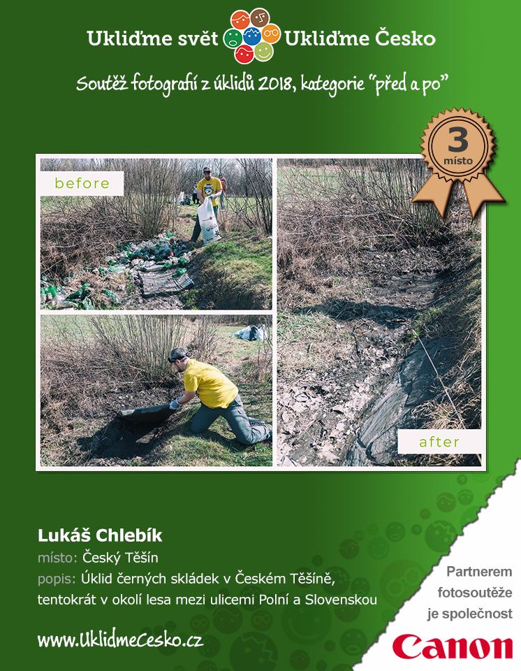 3. místo - Lukáš Chlebík