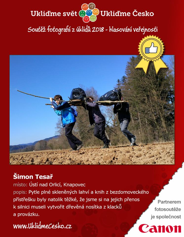 1. místo - Šimon Tesař