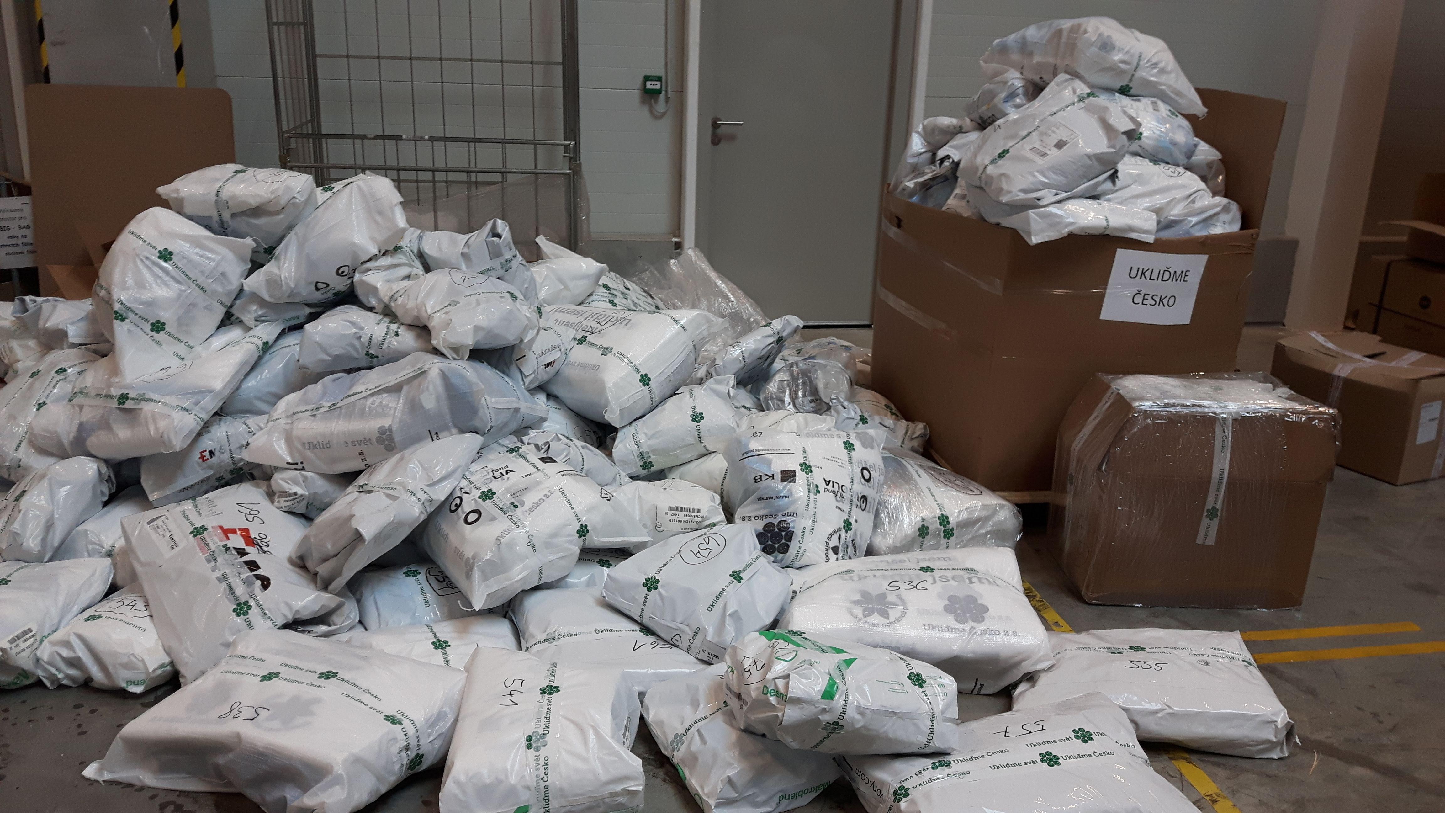 Balíčky připravené k odeslání