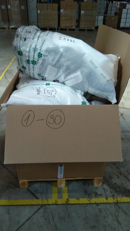 Prvních 30 balíčků již zabaleno!