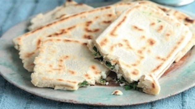 family camping meals - Stuffed Turkish bread