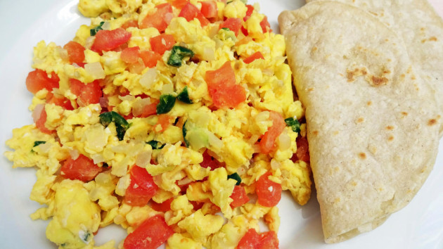 Mexican Scrambled Eggs | Good Food Channel