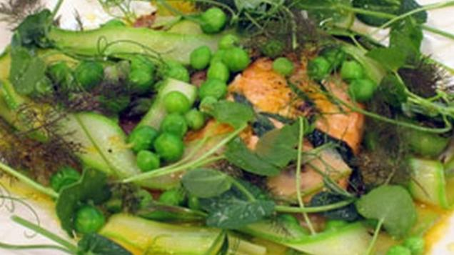 Baked Carpaccio of Salmon With