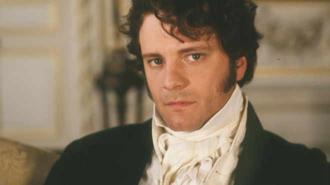 Young Colin Firth Colin Firth as mr Darcy
