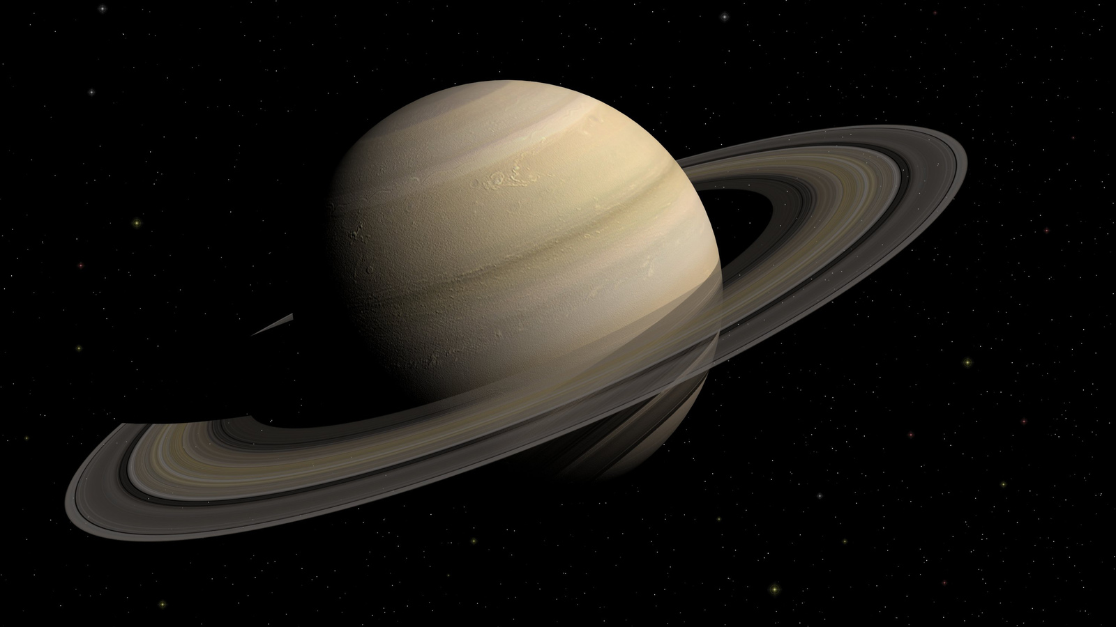 Saturn The Solar System Science Eden Channel