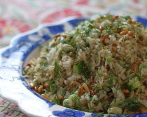 Vegetable pilaff | Good Food Channel