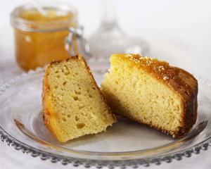 Orange Sour Cream Cake Rachel Allen