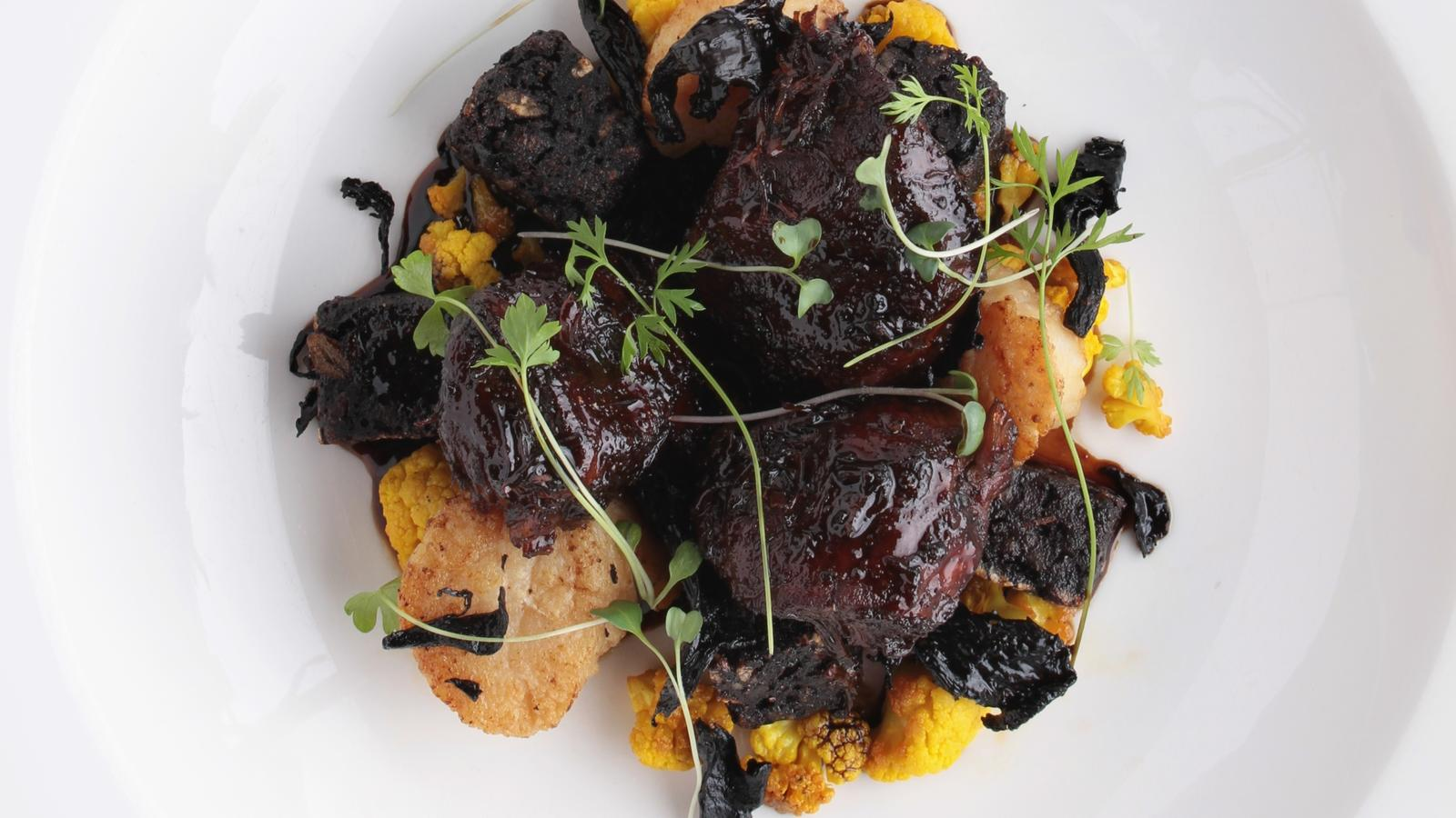 how to cook black pudding