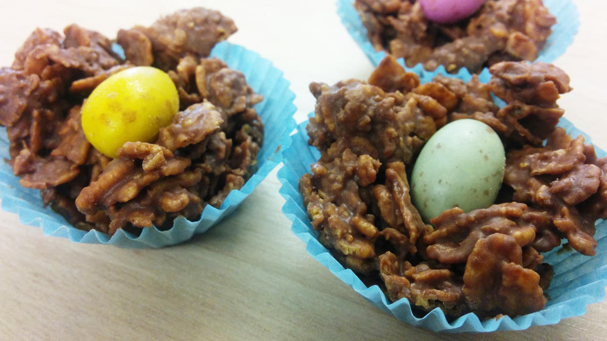 Chocolate cornflake cakes recipes food