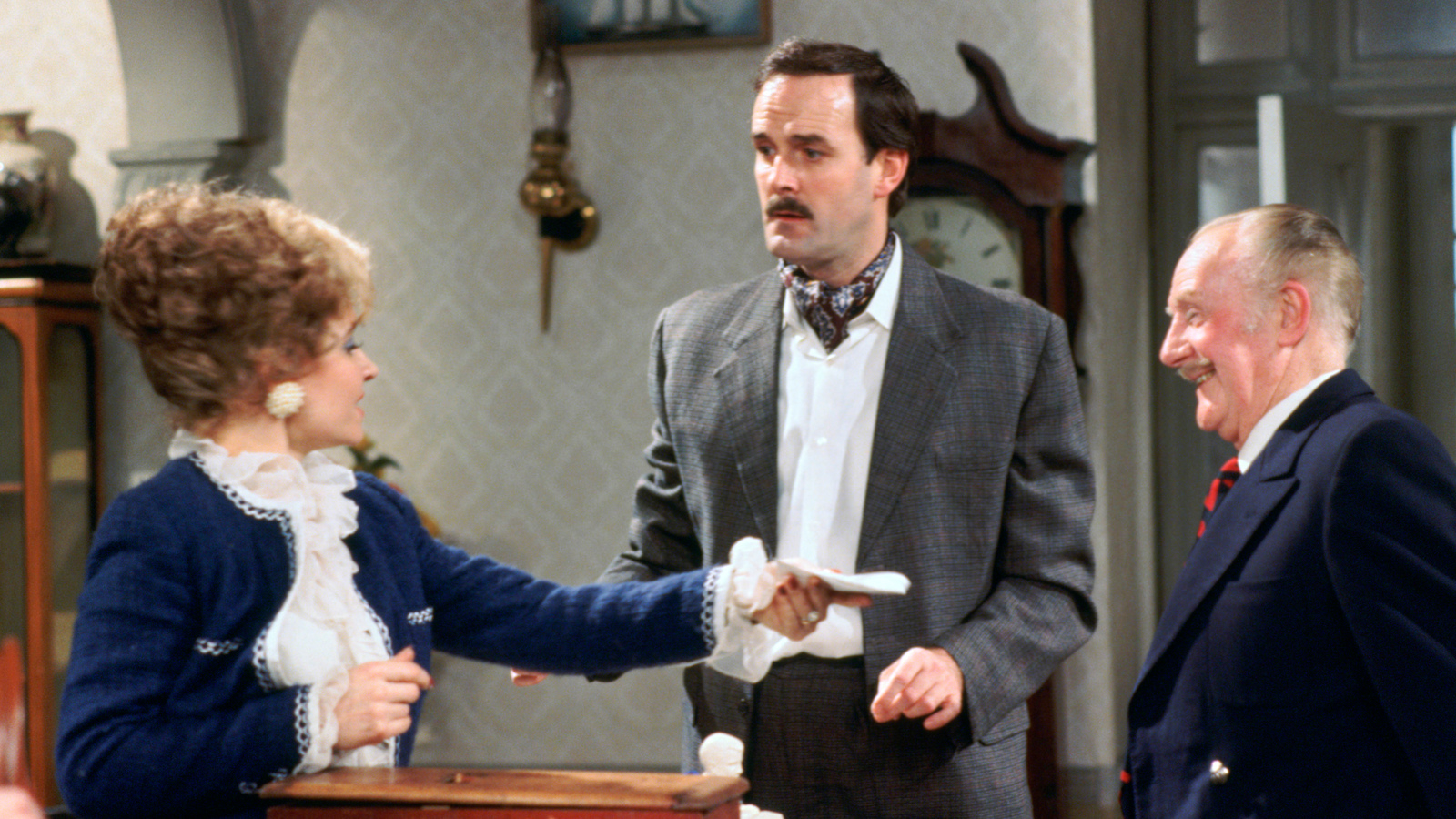 fawlty towers The world-famous hotel, which inspired fawlty towers, is set to be  in the  british film institute's 100 greatest tv programmes, despite just 12.