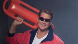 The Hoff in groundbreaking drama Baywatch