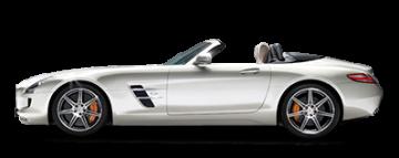 Арендовать Mercedes SLS в Европе