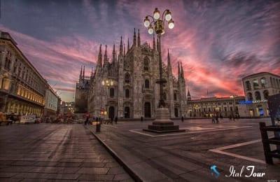 Экскурсия по ночному Милану
