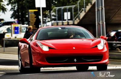 Тест-драйв Ferrari 458 в Риме