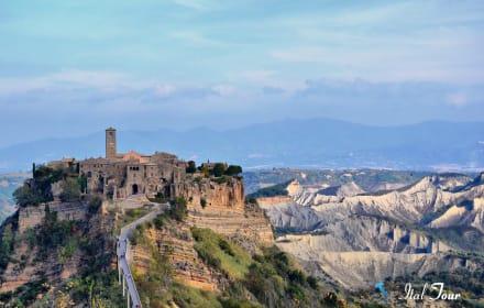 Орвието и город призрак Баньореджо