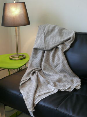 100% Cashmere Blankets with various twill patterns