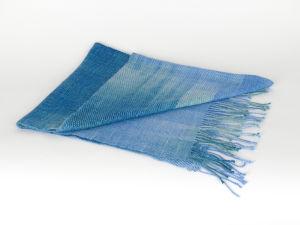 Woven Stories Handwoven Angora/Silk Shawl No. 7
