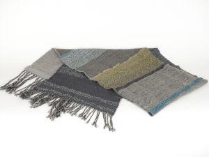 "Handwoven ""Zegna Baruffa"" Wool Shawl No. 5"