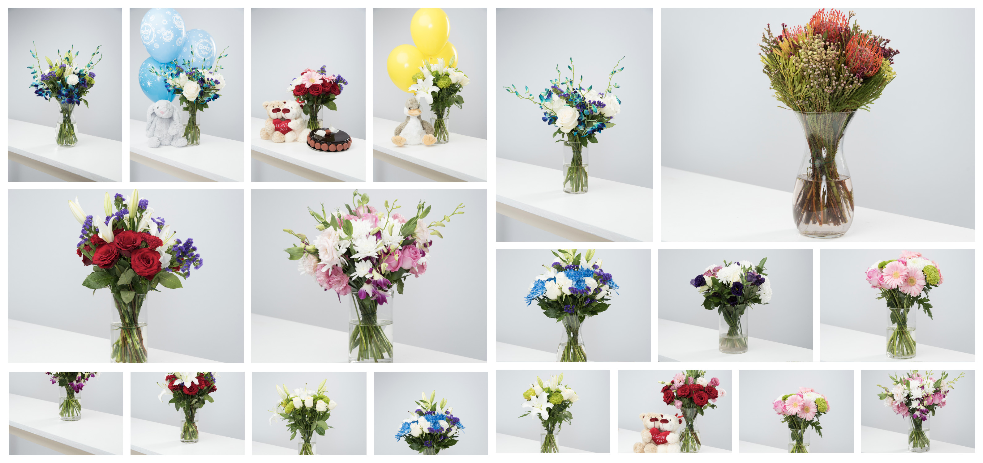 Flower delivery dubai flower shop dubai free flower delivery have a look at our stunning new floral vase creations izmirmasajfo