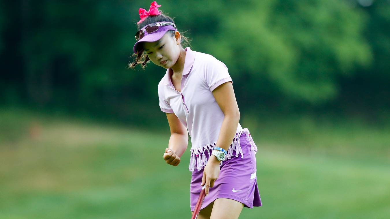 Lucy Li 14 Fired A  On Tuesday To Earn Medalist Honors By One Stroke Usga Steven Gibbons