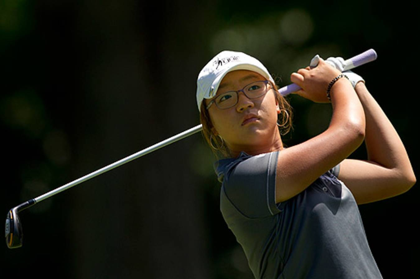 Lydia Ko, ranked atop the Women's World Amateur Golf Ranking, shot a 66 for  the second consecutive year at the U.S. Women's Amateur. (Steve  Gibbons/USGA)