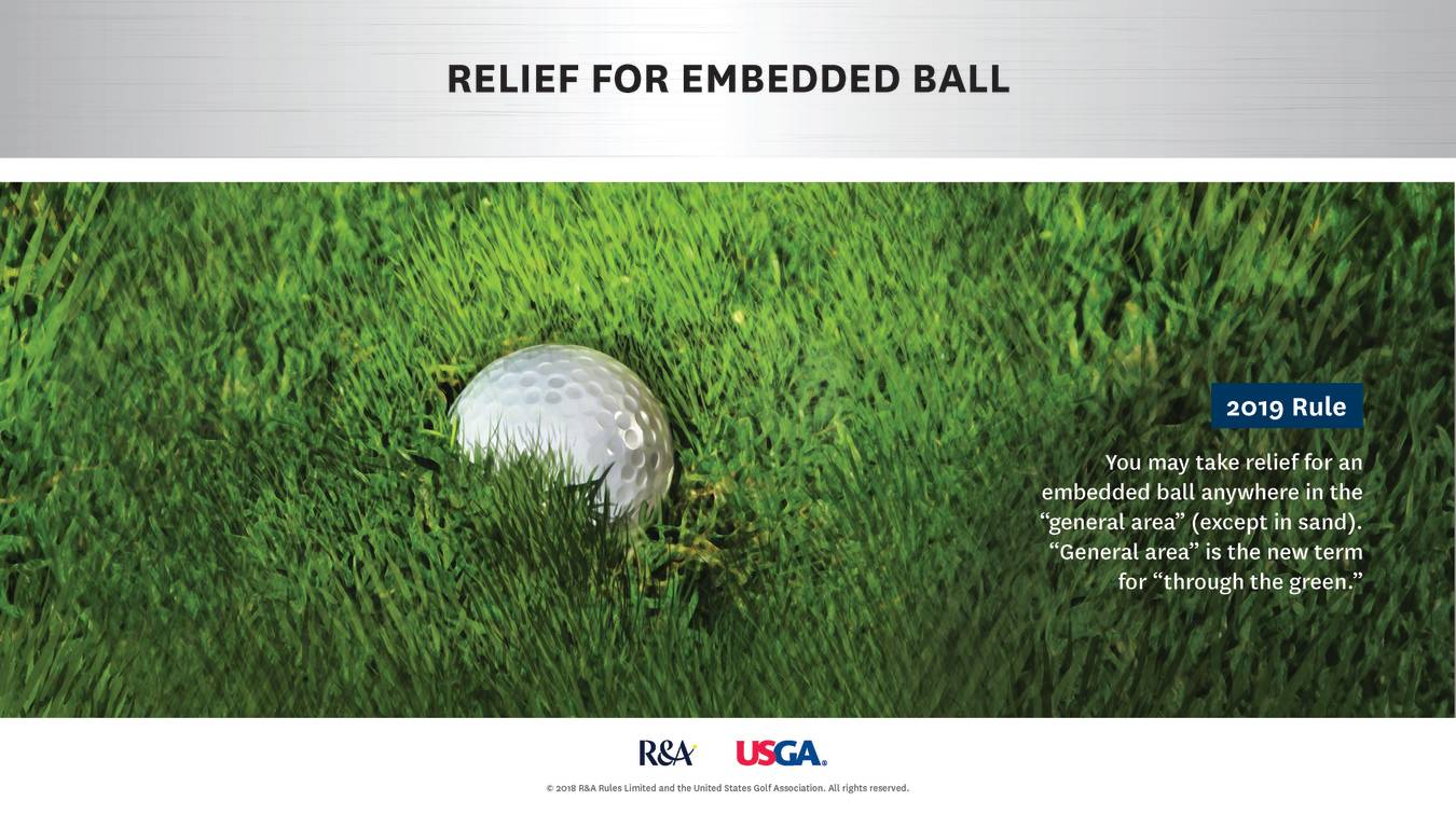 Major Change Relief For An Embedded Ball