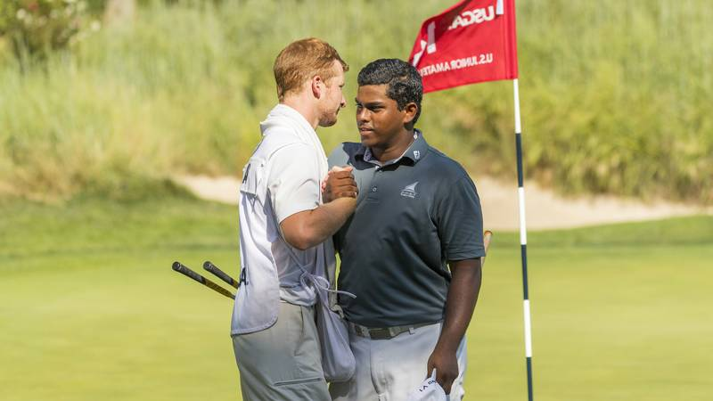 Piece british amateur qualifying graceful and