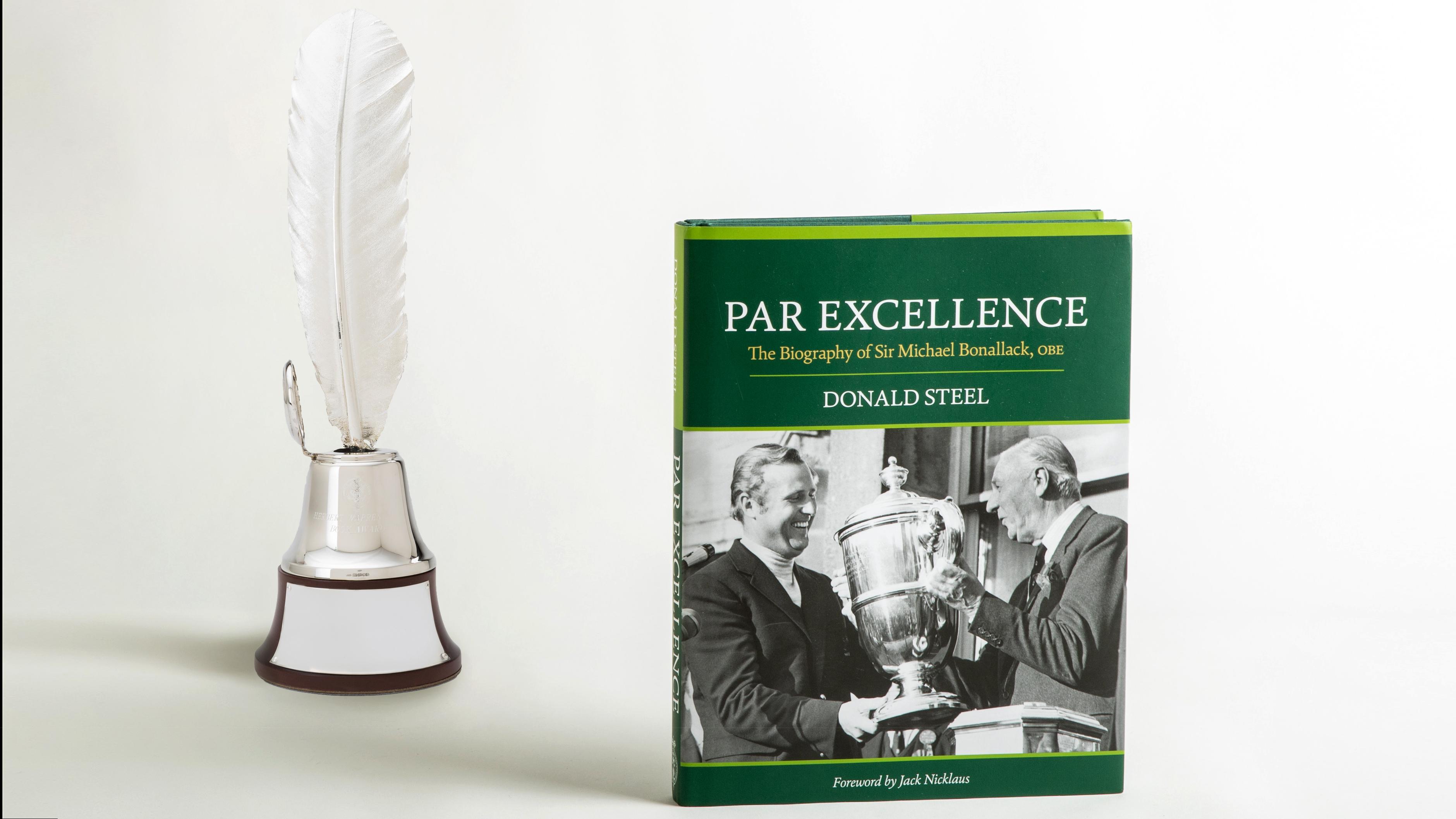 Biography of Sir Michael Bonallack Honored as Book Award Winner