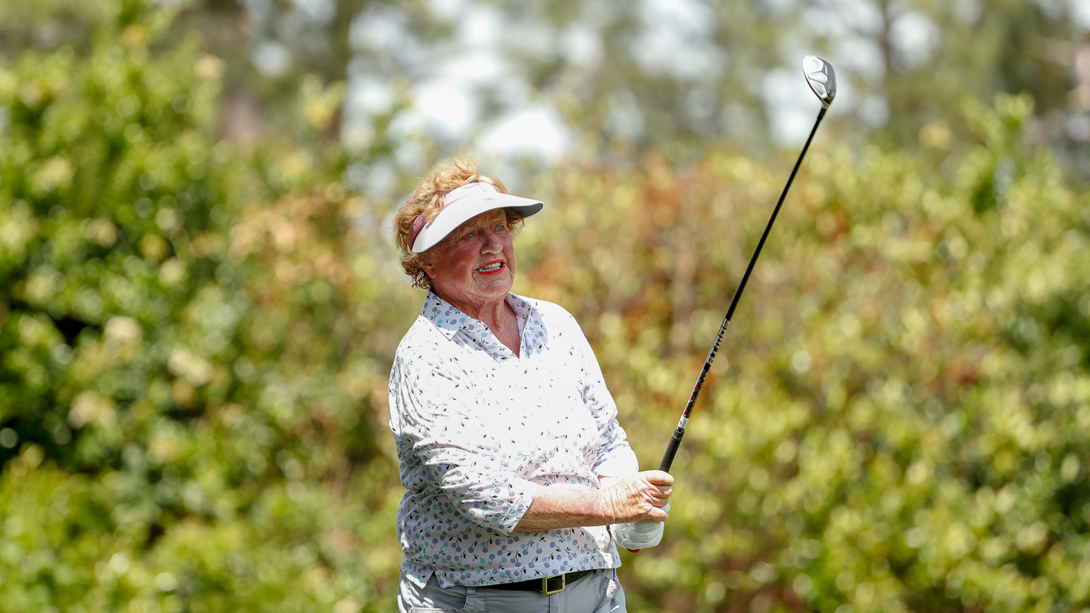 Even at 80, Carner's Competitive Fire Still There