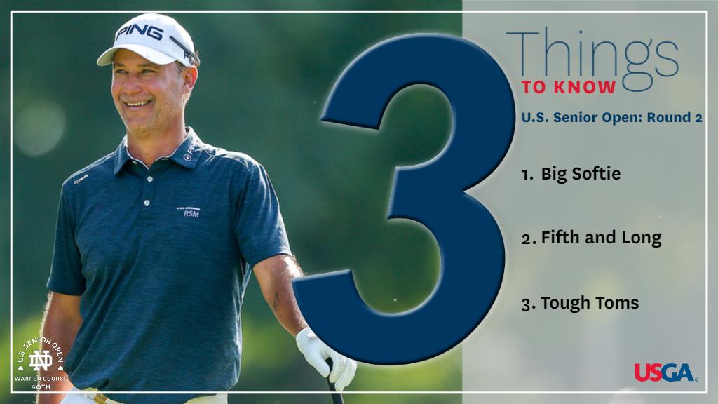 3 Things to Know, U.S. Senior Open: Round 2