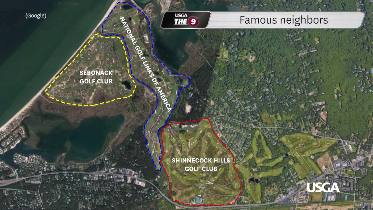 shinnecock hills an iconic venue prepares for golfs ultimate test us open venue map