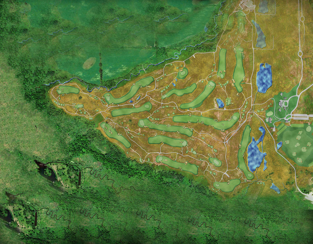 the course the official website of the 117th us open us open golf grounds map