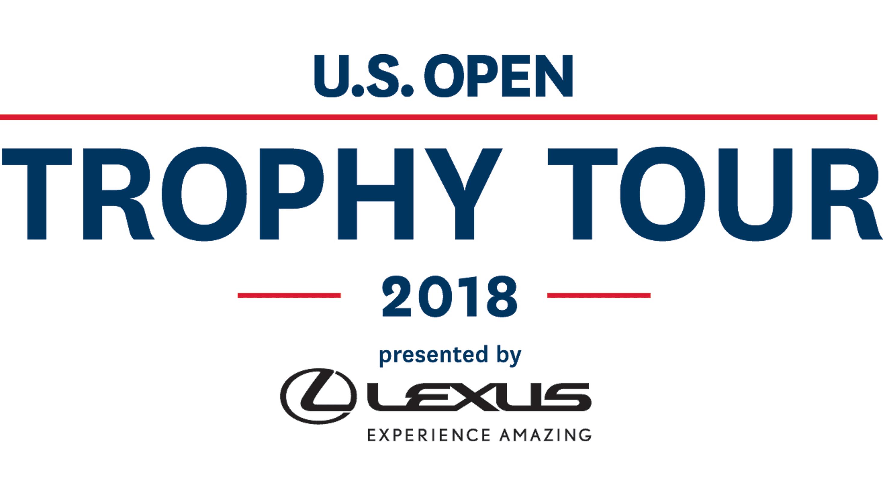 U.S. Open Trophy Tour Presented By Lexus