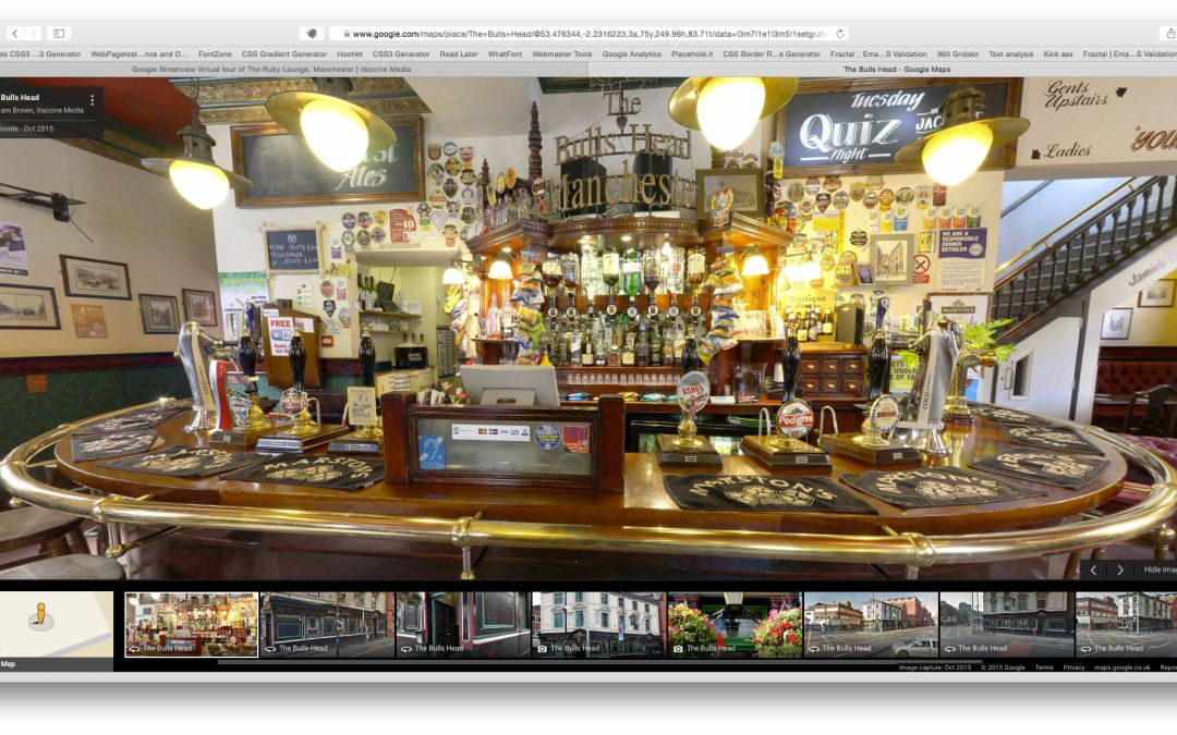 """Google Trusted Photographer """"see inside"""" Features and Benefits #1 – Bars and Restaurants"""
