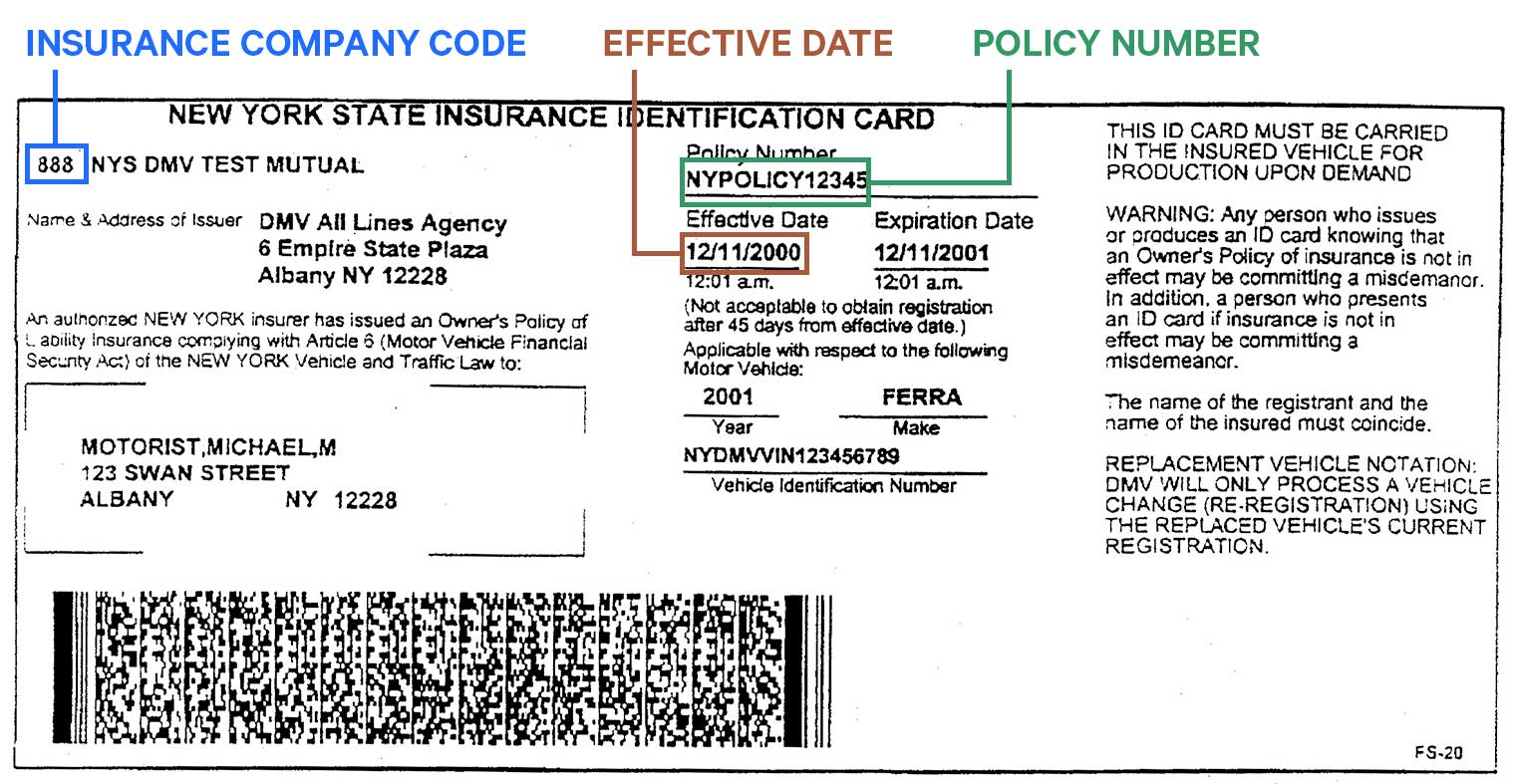 21 Ways to Obtain Proof of Insurance (Card, Print or Phone App Throughout Auto Insurance Id Card Template