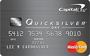 Capital One® QuicksilverOne® Credit Card Image