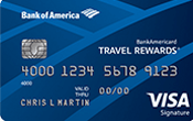 BankAmericard Travel Rewards® Credit Card Image