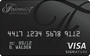 Fairmont Visa Signature® Credit Card Image