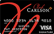 Club Carlson Premier Rewards Visa Signature Card Image