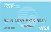 Korean Air SKYPASS Visa Card Image