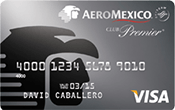 AeroMexico Visa Secured Card Image