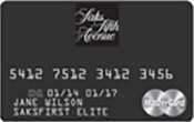 Saks Fifth Avenue Credit Card Image