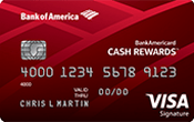 BankAmericard Cash Rewards™ Credit Card Image