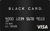 Visa Black Card Image