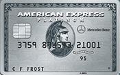 carte de crédit Mercedes benz
